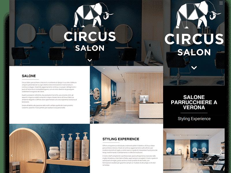 circus salon parrucchiere verona